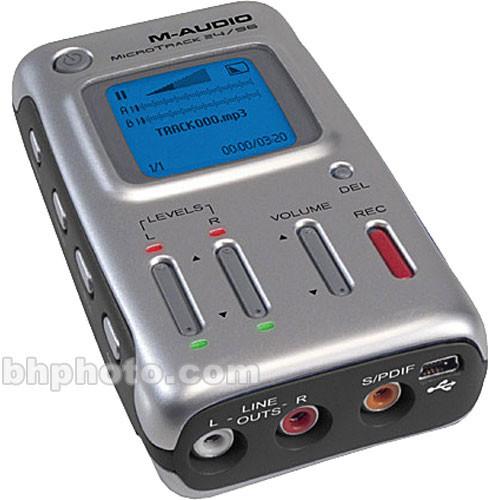 M-Audio MicroTrack 24/96 - Portable CF Recorder