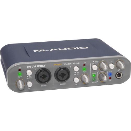 M-Audio Fast Track Pro USB Audio/MIDI Interface