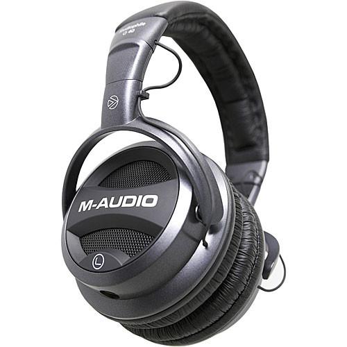 M-Audio Studiophile Q40 Closed-Back Dynamic Stereo Headphones