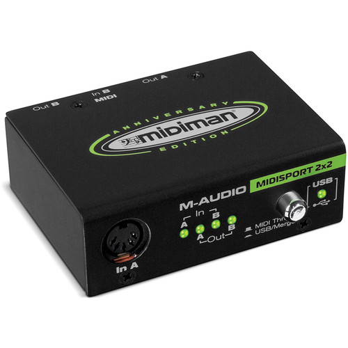M-Audio MIDISport - 2-In/2-Out USB MIDI Interface