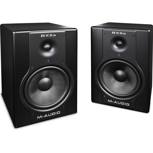 "M-Audio Studiophile BX8a Deluxe 130W 8"" Studio Reference Monitors (Pair)"