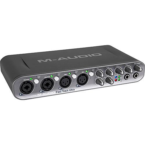 M-Audio Fast Track Ultra - USB 2.0 Recording Interface