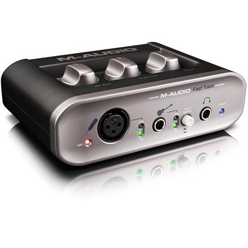 M-Audio Fast Track - USB Audio Recording Interface
