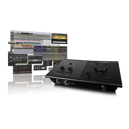 M-Audio Pro Tools MP + Fast Track C400 - Software and Interface Recording Bundle
