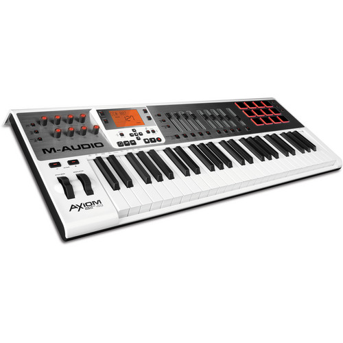 M-Audio Axiom A.I.R. 49 - Keyboard and Pad Controller