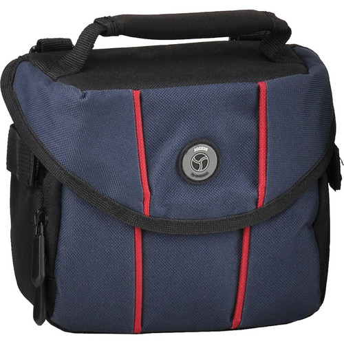 M-Rock 2050 Rocky Mountain Compact Camera Bag (Black with Navy)