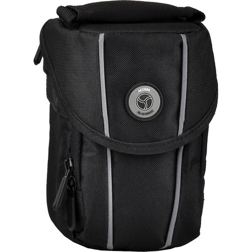 M-Rock 2070 Niagara Compact Camera, Video Camera and Lens Bag (Black)