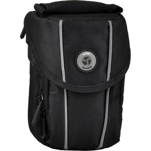 M-Rock 2070 Niagara Compact Camera, Video Camera and Lens Bag (Black)