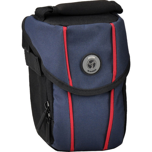 M-Rock 2070 Niagara Compact Camera, Video Camera and Lens Bag (Black with Navy)