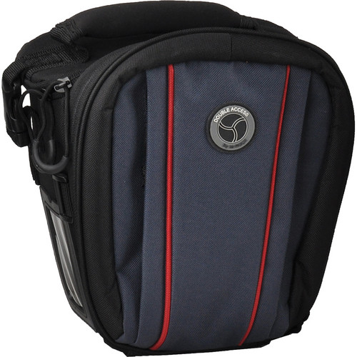 M-Rock Double Access 4030 Yellowstone Holster Case (Black with Navy)