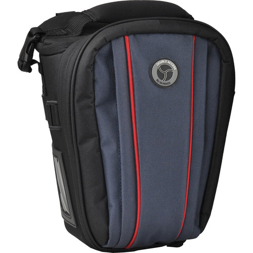 M-Rock 4050 Sierra Double Access Holster Camera Bag (Black with Navy)