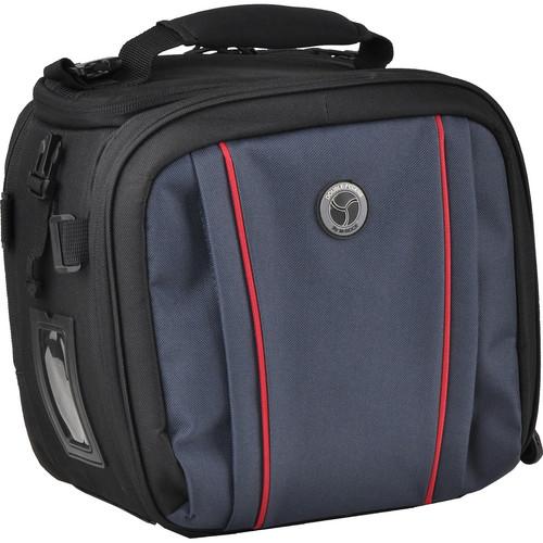 M-Rock 5040 Glacier Double Access Notebook Camera Bag (Black with Navy)
