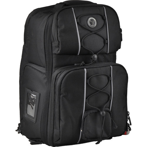 M-Rock 6030 Arches Double Access Sling-Backpack (Black)