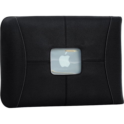 MacCase Premium Leather Sleeve (Black)