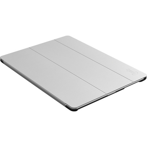 Macally Microfiber Protective Cover & Stand for iPad 2 (Grey)