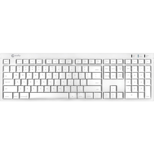 Macally BTKey Wireless Bluetooth Slim Keyboard for Mac