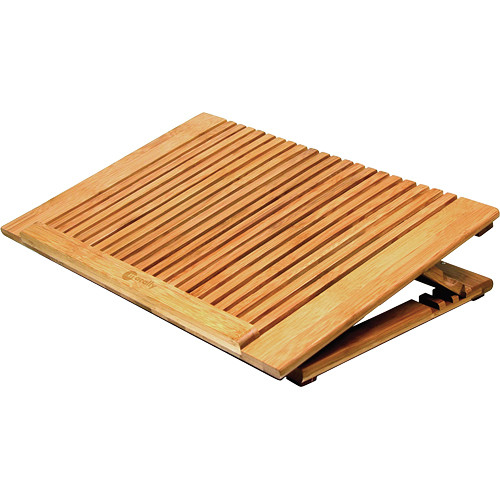 Macally Adjustable Bamboo Cooling Stand