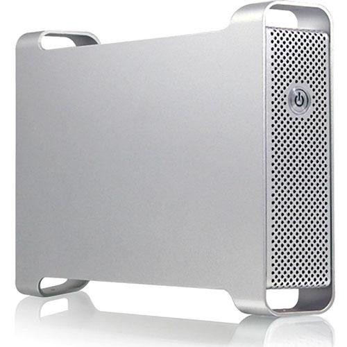 "Macally G-S350UN Ethernet and USB 2.0 External Drive Enclosure for 3.5"" SATA Hard Drive"