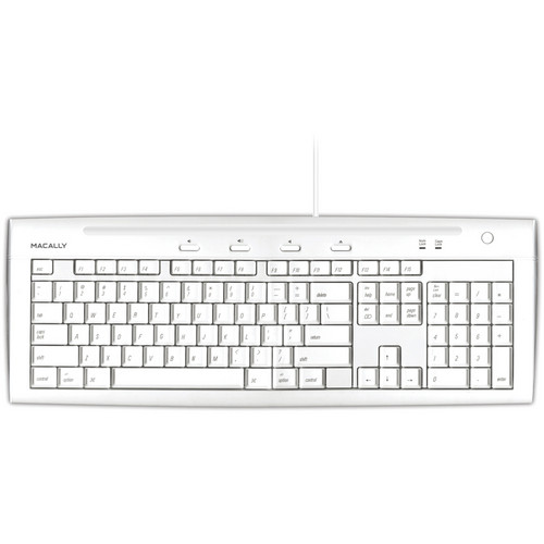 Macally iKey USB Slim Keyboard (Mac)