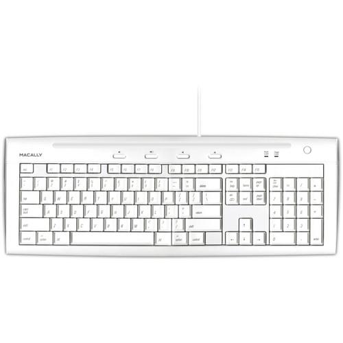 Macally iKey USB Slim Keyboard (Mac)