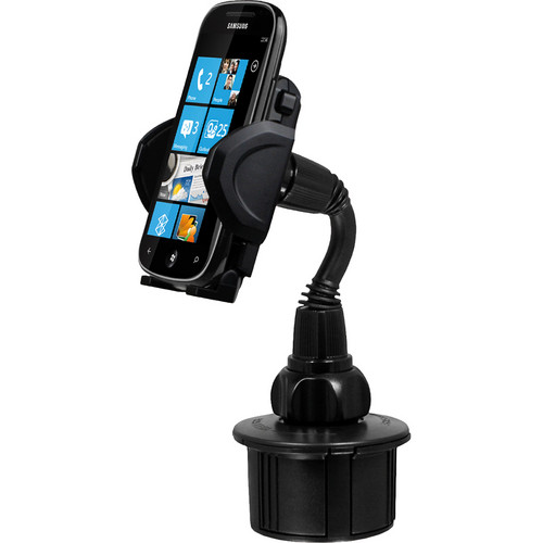 Macally mCup Adjustable Automobile Cup Holder Mount for Mobile Devices