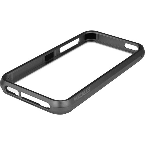 Macally Aluminum Frame Case for iPhone 5 (Black)