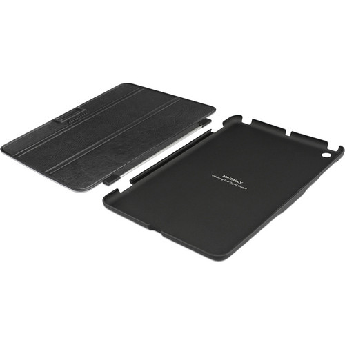 Macally Reversible Cover and Hardshell Case with Stand for iPad mini (Black)