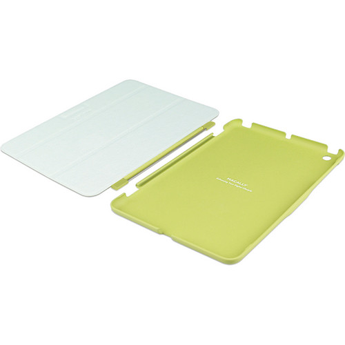 Macally Reversible Cover and Hardshell Case with Stand for iPad mini (Green)