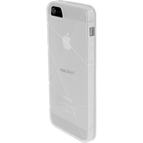 Macally Semi Translucent Protective Case For iPhone 5