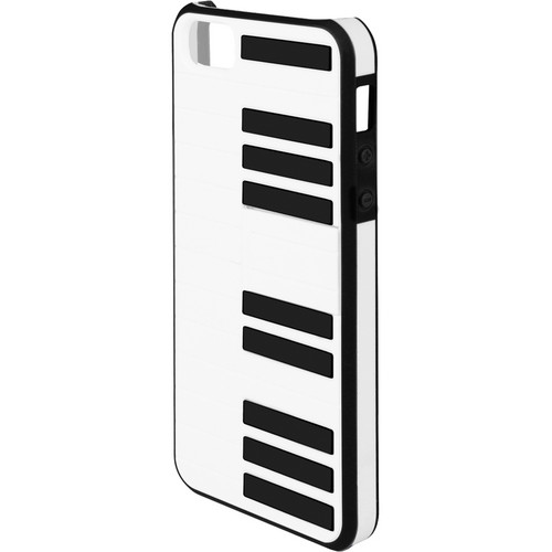 Macally Piano Case With Stand For iPhone 5