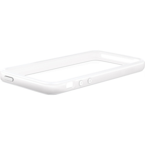 Macally Protective Frame Case for iPhone 5 (White)