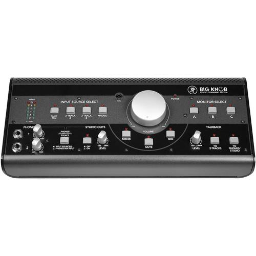 Mackie BIGKNOB - Control Room Monitoring Distributor
