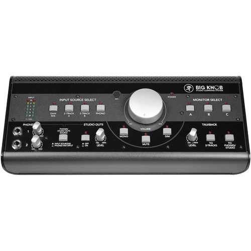 Mackie 0008466-00 Big Knob Desktop Studio Monitor System