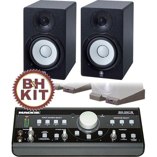 Mackie Big Knob and Yamaha Speaker B&H Kit