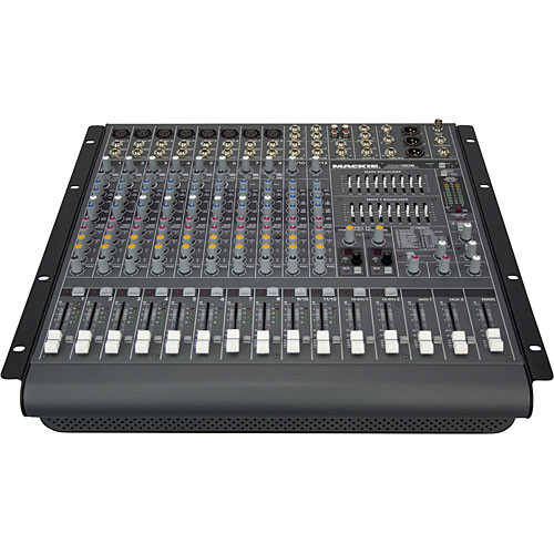 Mackie PPM1012 12-Channel Professional Desktop Powered Mixer (1600W)