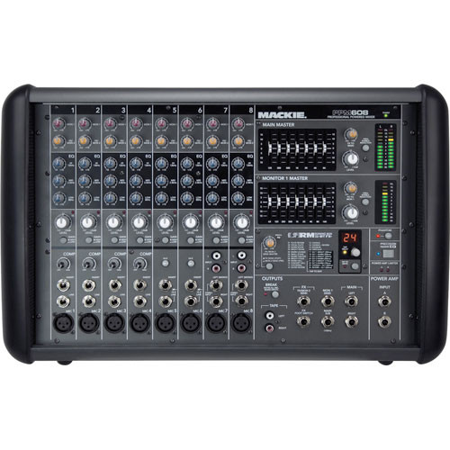 Mackie PPM608 8-Channel Professional Powered Mixer (1000W)