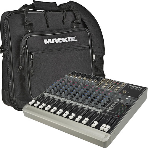 Mackie Premium 14-Channel Mixer and Bag Kit