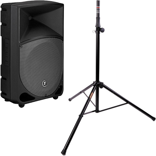 "Mackie TH12A THUMP 400W 12"" 2-Way Active Loudspeaker Kit with Stand"