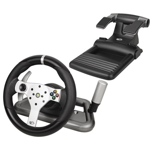 Mad Catz Officially Licensed Wireless Force Feedback Wheel for Xbox 360