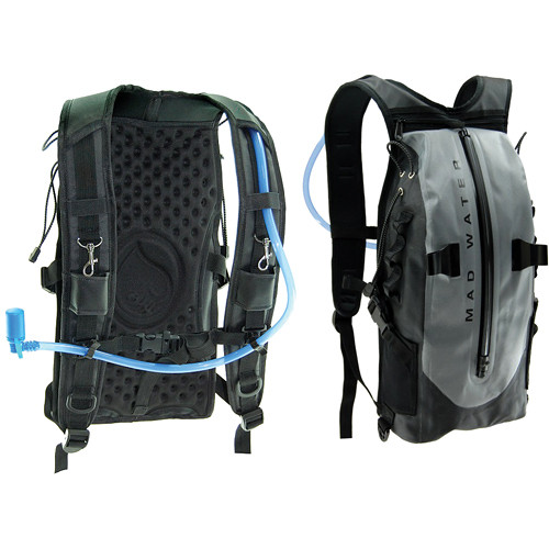 Mad Water Action Sports Waterproof Hydration Pack (Gray)