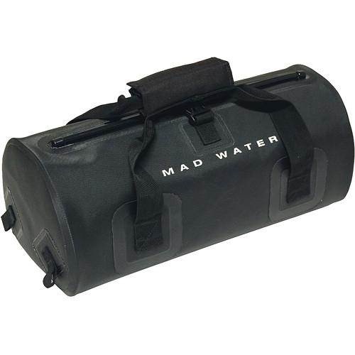 Madwater Waterproof Bike/Moto Micro Duffel (Black)