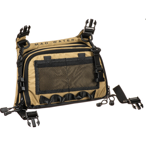 Mad Water Angler's Chest Pack (Khaki)