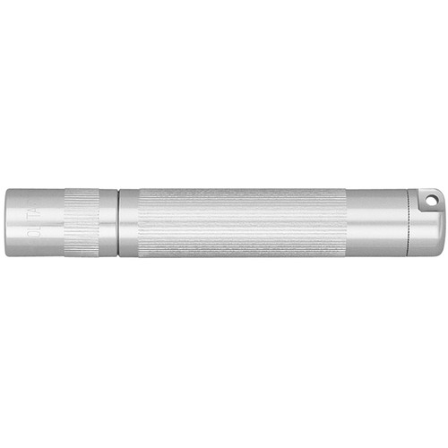 Maglite Solitaire 1-Cell AAA Incandescent Flashlight (Silver, Clamshell Packaging)