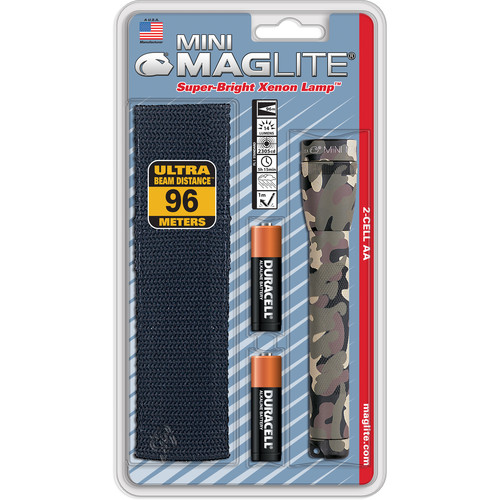 Maglite Mini Maglite W/ Holster Pack