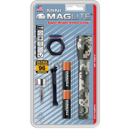 Maglite AA Mini Maglite Flashlight Combo Pack (UCP Camouflage)