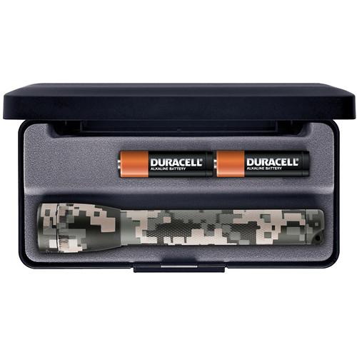 Maglite Mini Maglite 2-Cell AA Flashlight with Presentation Box (Universal Camo)