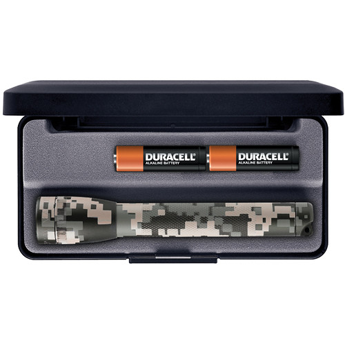 Maglite Mini Maglite 2-Cell AA Flashlight with Presentation Box (Universal Camo)