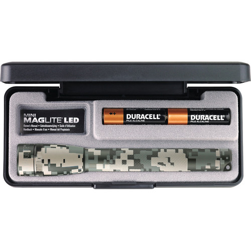 Maglite Mini Maglite 2-Cell AA LED Flashlight with Presentation Box (Universal Camo)