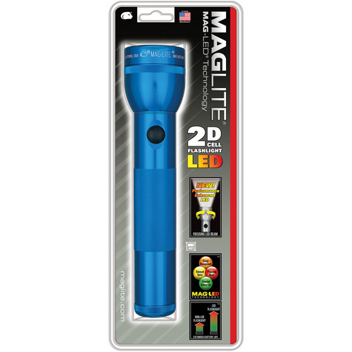 Maglite LED 2-Cell D Flashlight (Blue)