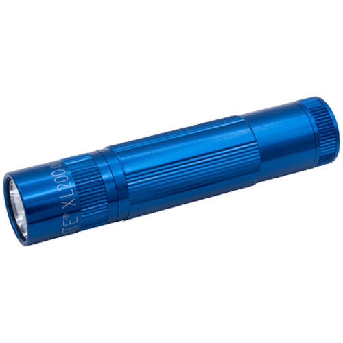 Maglite XL200 LED Flashlight (Blue, Clamshell Packaging)